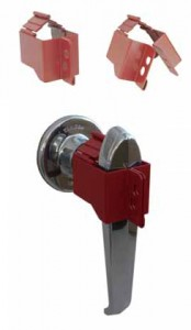 Lockout Attachment (for high-voltage switchboard)